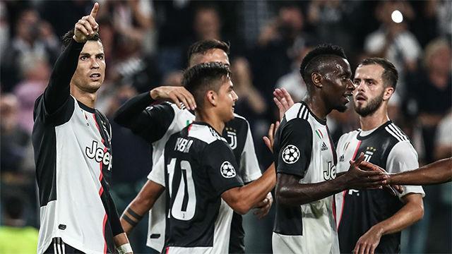 La Juve golea al Bayer Leverkusen