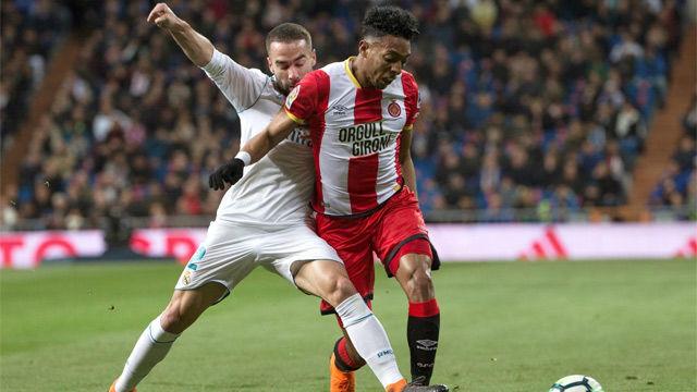 LALIGA | Real Madrid - Girona (6-3): Carvajal falló en los dos goles de Stuani