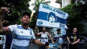 Las manifestaciones pidiendo el regreso de Maradona han sido claves