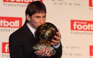 Leo Messi ganó su primer Balón de Oro en el año 2009