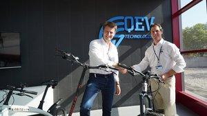 Lobito y QEV Technologies firman un acuerdo de colaboración.