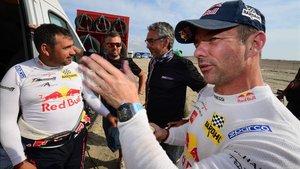 Loeb, vencedor de la sexta etapa del Dakar, en meta