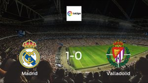 Madrid earned hard-fought win over Valladolid 1-0 at Santiago Bernabeu