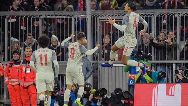 Mané mete al Liverpool en cuartos tras ganar al Bayern en el Allianz Arena