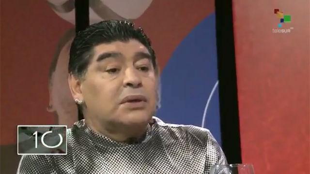 Maradona defiende a Messi con Argentina una vez más