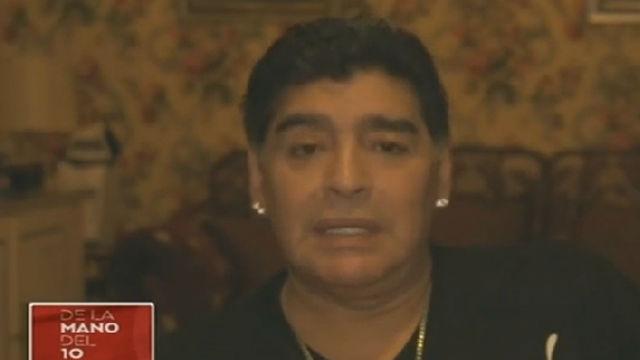 Maradona raja contra Sampaoli