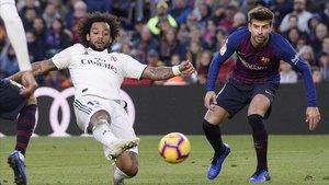 Marcelo en el Clásico