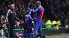Marlon jugó unos minutos en la Champions
