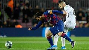 Messi decidió el partido con un disparo certero