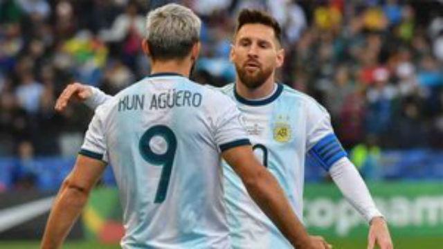 Messi desveló una anécdota con el Kun