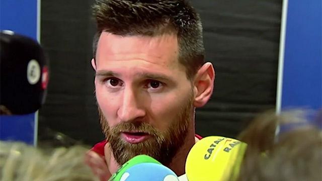 Messi: Obviamente no tengo ningún problema con Griezmann