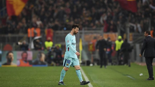 Messi, el único del Barça en el equipo de la Champions
