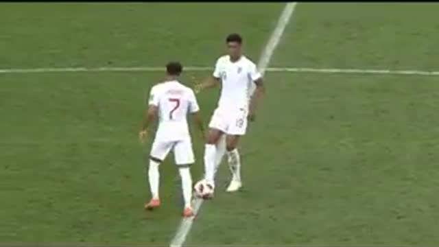 ¡Lo nunca visto! Así intentó Inglaterra marcar mientras Croacia celebraba el gol de la victoria