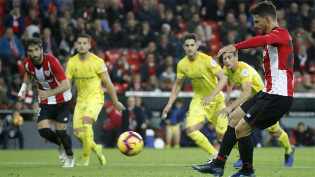 Un penalti en el descuento deja sin puntos al Girona