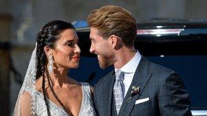 Pilar Rubio y Sergio Ramos muestran varias imágenes inéditas de su boda en Instagram | Mundo Deportivo