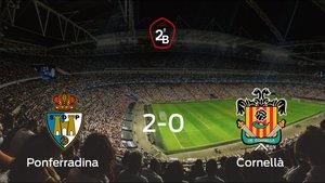 La Ponferradina se clasifica para la siguiente fase de los playoff tras ganar 2-0 contra el Cornellà