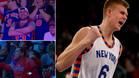 Porzingis se ha ganado el respeto del Madison Square Garden