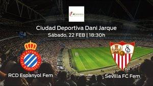 Previa del encuentro: el Espanyol Femenino recibe al Sevilla Femenino