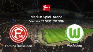 Previa del partido: el Fortuna Düsseldorf recibe al Wolfsburg