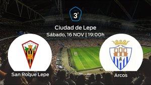 Previa del partido: el San Roque Lepe recibe al Arcos en la decimocuarta jornada