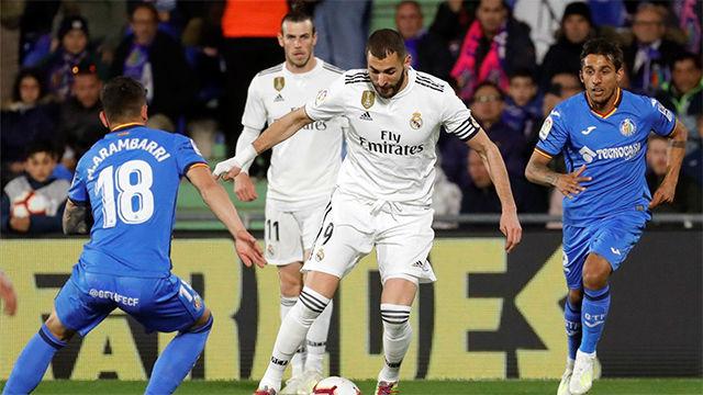Al Real Madrid de Zidane se le resiste la victoria fuera del Bernabéu