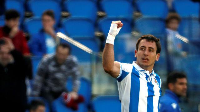 La Real Sociedad respira en casa tras ganar al Getafe