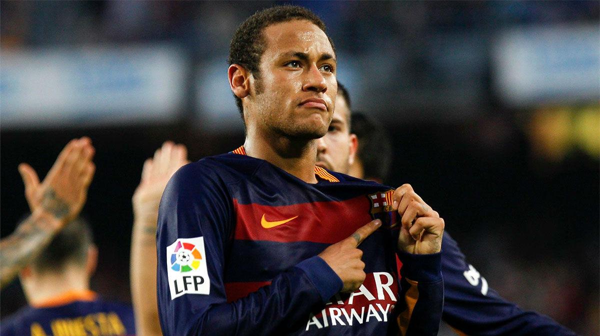 ¿Recordáis esta obra de arte de Neymar con la camiseta del FC Barcelona?