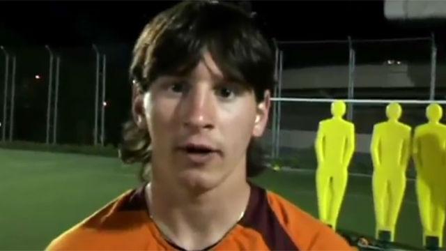 El recuerda mi nombre de Leo Messi