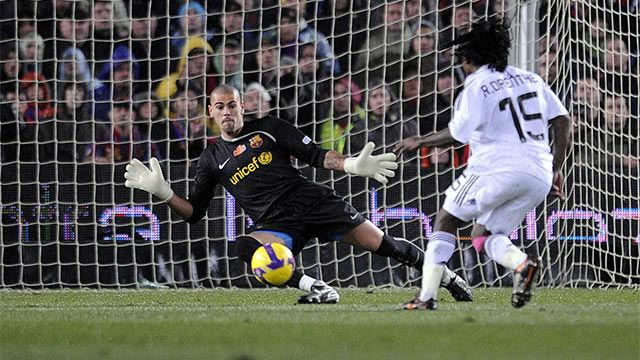 Un recuerdo para el paso de Víctor Valdés por el Barça