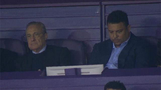Ronaldo disfrutó del juego del Real Madrid... con una placentera siesta