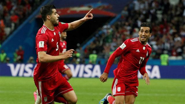Gol anulado a Irán