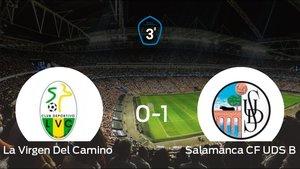 El Salamanca CF UDS B se lleva tres puntos a casa tras derrotar 0-1 a La Virgen Del Camino