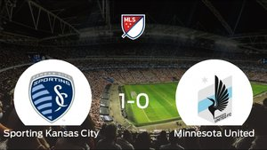 El Sporting Kansas City se lleva tres puntos después de ganar 1-0 al Minnesota United