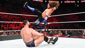 AJ Styles defiende el campeonato de WWE en Extreme Rules