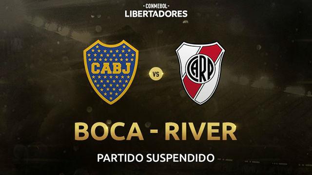 Suspendido el Boca Juniors - River Plate