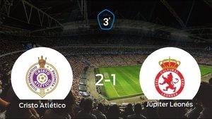 Tres puntos para el equipo local: Cristo Atlético 2-1 Júpiter Leonés