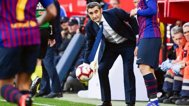 Valverde: Messi es superlativo