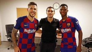 Valverde se ha nutrido esta temporada con Fati y Carlos Pérez
