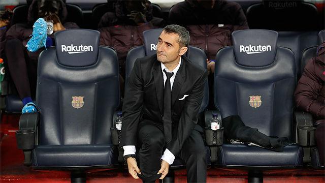 Valverde se queda sin palabras para definir el gol de Suárez