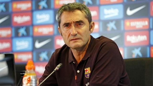 Valverde reacciona a las palabras de Ter Stegen