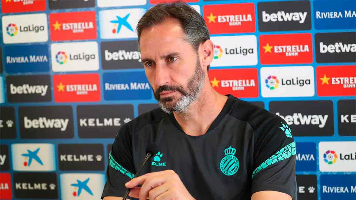 Vicente Moreno: Nuestra intención es ir a ganar el partido