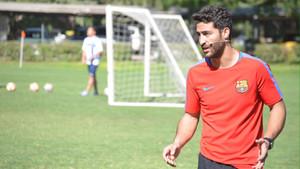 Victor Cócera durante su paso por Chile