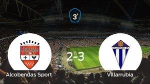 El Villarrubia gana 2-3 al Alcobendas Sport en la ida de la final de los playoff