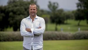 Xavier Vilajoana habló con SPORT de dos de sus grandes pasiones: el fútbol y la formación