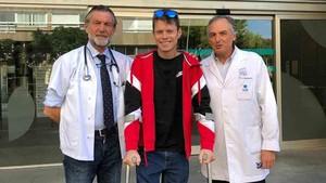 Tito Rabat ya tiene el alta hospitalaria