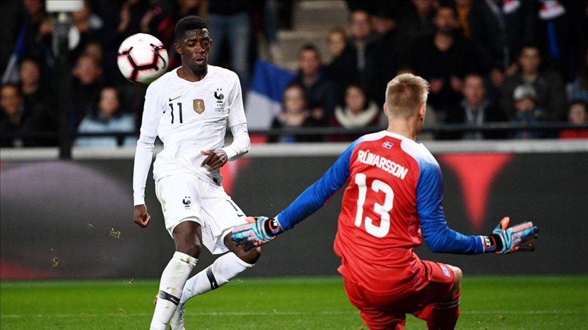 Mbappé evita un triunfo histórico de Islandia
