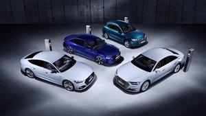 Los nuevos Audi Q5, A6, A7 Sportback y A8 TFSI e.