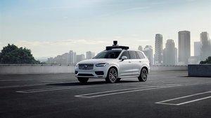 Volvo XC90 equipado con la tecnología de Uber.