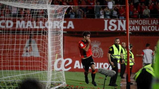 Abdón marcó el gol de la remontada y dio el ascenso al Mallorca