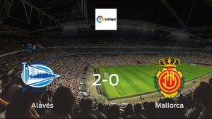 Alavés cruise to a 2-0 win over Mallorca at Estadio de Mendizorroza